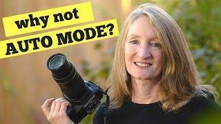 DSLR Auto Mode - How Does it Limit Your Photographic Vision?