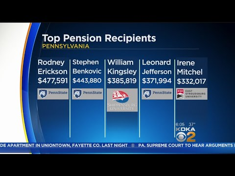 Retired Educators Top List Of Highest Pensions In Pennsylvania