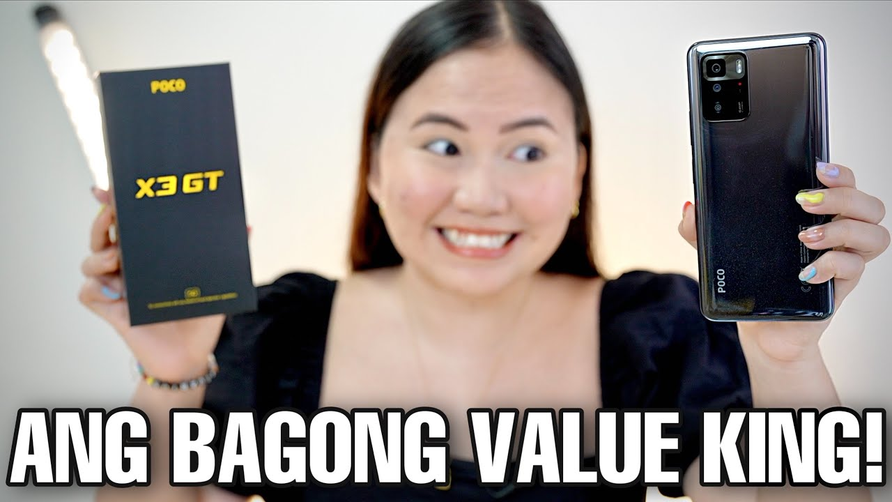 POCO X3 GT 5G UNBOXING & FIRST IMPRESSIONS
