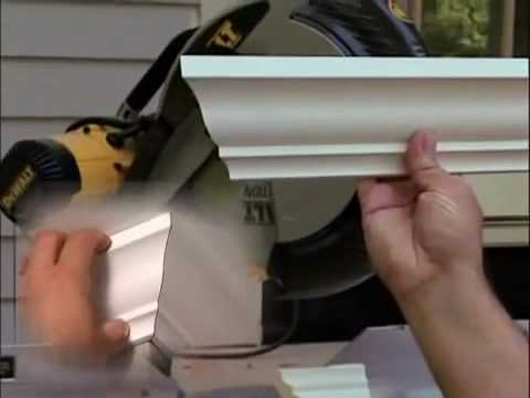 installing crown moulding dcor moulding toronto youtube - Decor Moulding