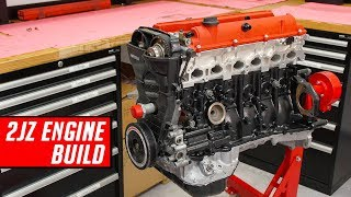 Download Toyota 2JZ Engine Build - Full Start to Finish Mp3 and Videos