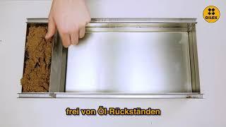 OILEX absorbiert Öl auf Wasser   Teil 1