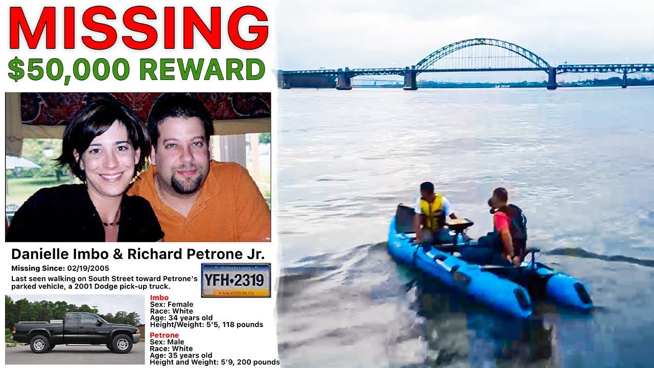 MISSING: Imbo and Petrone $50,000 Reward (Part 1) COLD CASE!