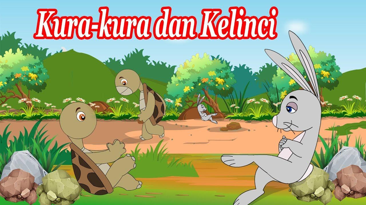 Kura Kura Dan Kelinci Dongeng Anak Dongeng Bahasa Indonesia Kartun Anak Youtube