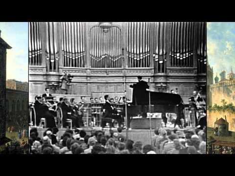 "Van Cliburn - L.V. Beethoven Piano Concerto No. 5 ""Emeperor"" in Moscow"