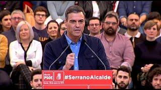 """Sánchez: """"Viva España, claro, pero que no viva enfrentada"""""""