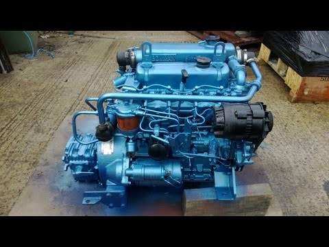 For Sale: Thornycroft T108 47hp Marine Diesel Engine Package - GBP 1,595