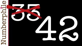 42 is the new 33 - Numberphile