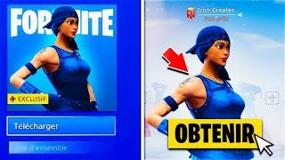 "REVEDe this ""EXCLUSIVE SKIN"" on YOUR COMPTE ""FREE"" before FEBRUARY on FORTNITE! 😱"
