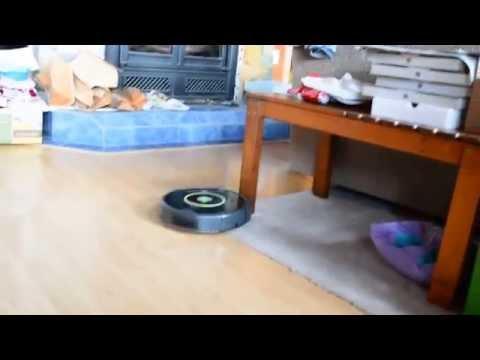 iRobot Roomba 650 first use
