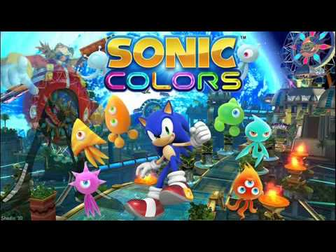Sonic Colors Music Cyan Laser Wisp Youtube
