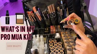 What's in my Pro MUA kit