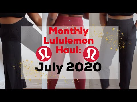 Monthly Lululemon Haul: July | Everlux, Inmovements, Invigorate And More (From A Lulu Educator)