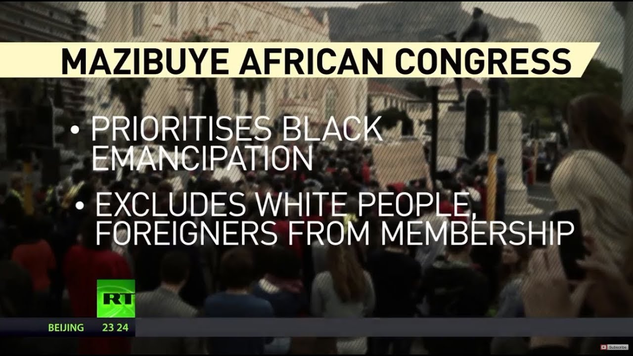 African Political Party Banning Whites and Foreigners From Becoming Members