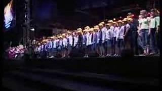 Chant de clôture du Festival place Stanislas