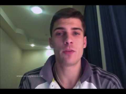 Matt Anderson Greets Volleywood - YouTube