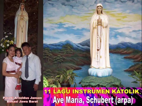 NONSTOP - 11 Lagu Instrumen Katolik Ave Maria ( Bunda Maria )