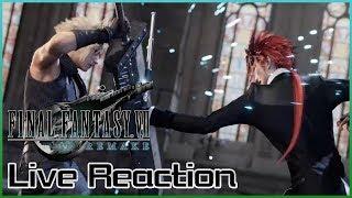 Live Reaction - Final Fantasy VII Remake Trailer (TGS 2019)