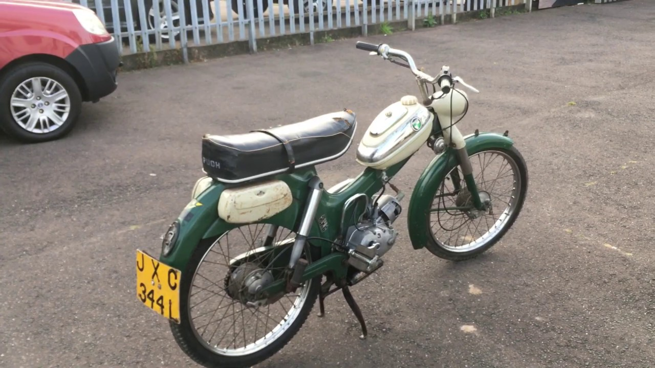 1972 PUCH Ms50 MOPED REVIEW