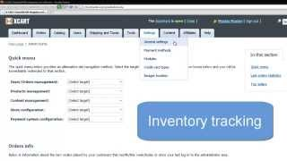 """Overview of main merchandising and inventory management features x-cart v4.4: * discount coupons codes gift certificates full control """"out..."""
