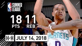 Miles Bridges Full Highlights Hornets vs Raptors (2018.07.14) Summer League - 18 Pts, 11 Reb, 4 Ast