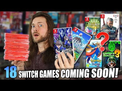 18 BIGGEST Upcoming Nintendo Switch Games for 2019!