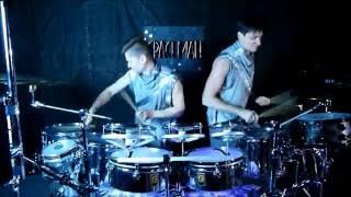 Шоу Барабанщиков / Барабанное Шоу SPACEMAN project / смотреть в HD
