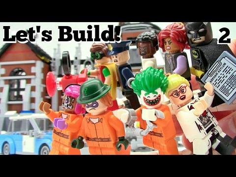 THE LEGO BATMAN MOVIE: Arkham Asylum 70912 - Let's Build! Part 2