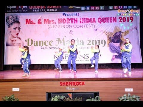 Kids Dance Performance Fusion Mix | Gur Nalo Ishq x Paagal Mashup | Step2Step Dance Studio | Mohali