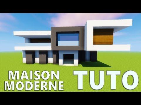 TUTO MAISON MODERNE ! | Minecraft