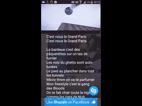 Paroles lyrique Medine- GRAND PARIS feat lartiste nino yousoupha sofiane....etc
