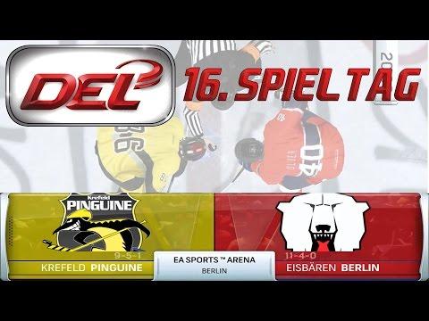 Deutsche Eishockey Liga [DEL][60fps][Deutsch] #016 - Eisbären Berlin - Krefeld Pinguine ★ NHL 16