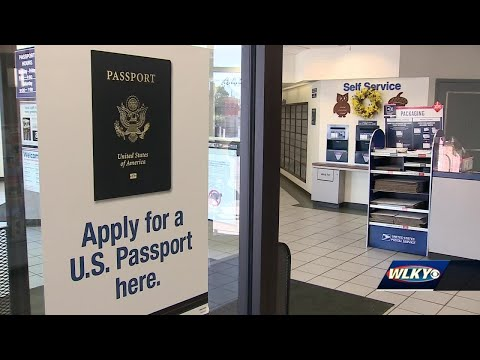 Post Office Preparing For Increased Number Of Passport Applications Ahead Of Real ID Deadline