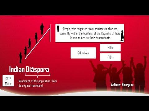 Indian Diaspora - GS2 Mains (UPSC IAS) Revision purpose Only
