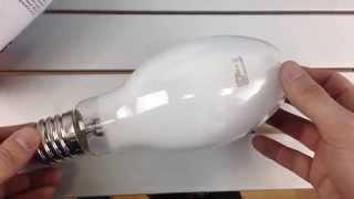 OSRAM HQL 250W E40, обзор ртутной лампы