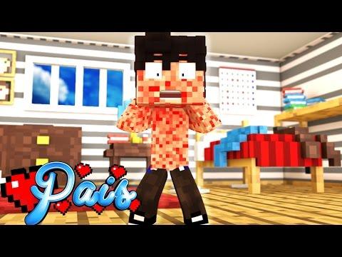 Minecraft : FILHO COM CATAPORA !! #8 ( Minecraft Pais)