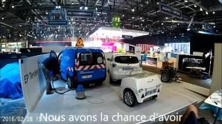 EP Tender: mise en place au Salon de l'Auto Genève