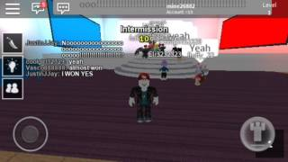 We win 3 times pick a side Roblox game