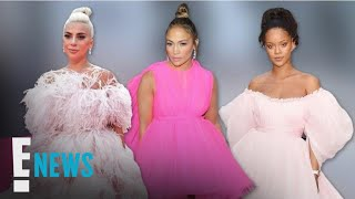 J.Lo & Other Celebs Are Pretty in Pink Gowns | E! News