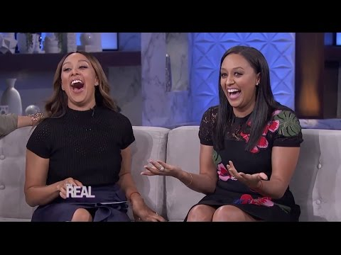 Tia Mowry-Hardrict Stops by 'The Real'!