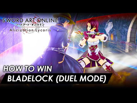 Sword Art Online: Alicization Lycoris - How to win Bladelock (Duel Mode) Explained (Full Guide) from YouTube · Duration:  3 minutes 3 seconds