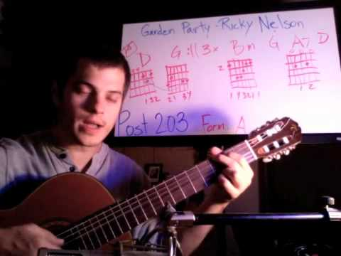 Post 203 How I Play Garden Party Ricky Nelson By Danny