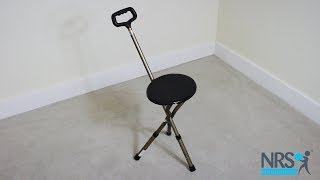 Walking Cane With Folding Seat Review
