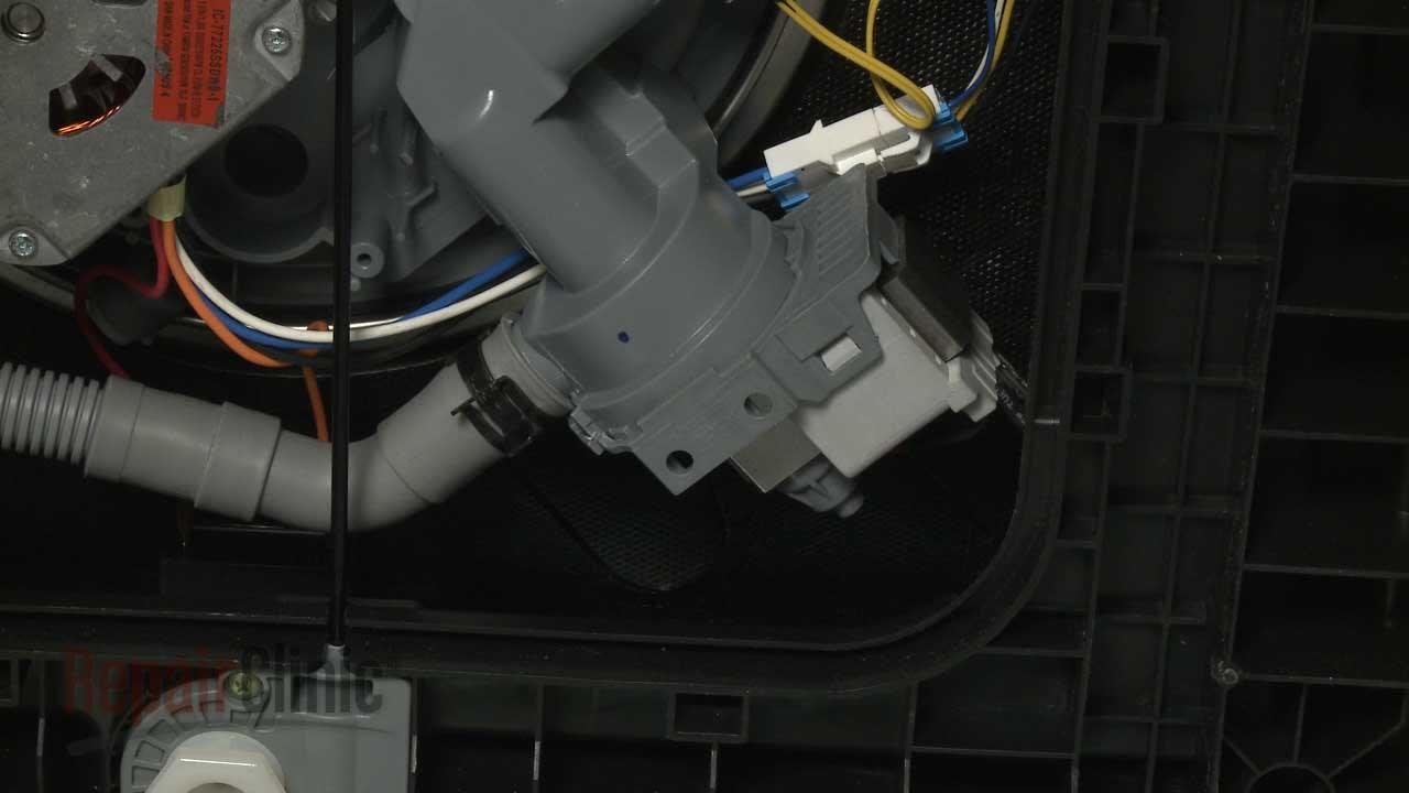 samsung dishwasher drain pump replacement dd81 01527a youtube Sears Dishwasher Wiring Diagram samsung dishwasher drain pump replacement dd81 01527a