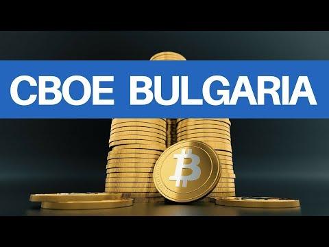 CBOE Launch! Bulgaria has Billions $ in BTC!