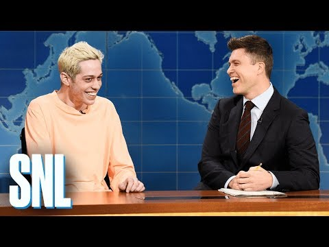 Weekend Update: Pete Davidson on Kanye West - SNL