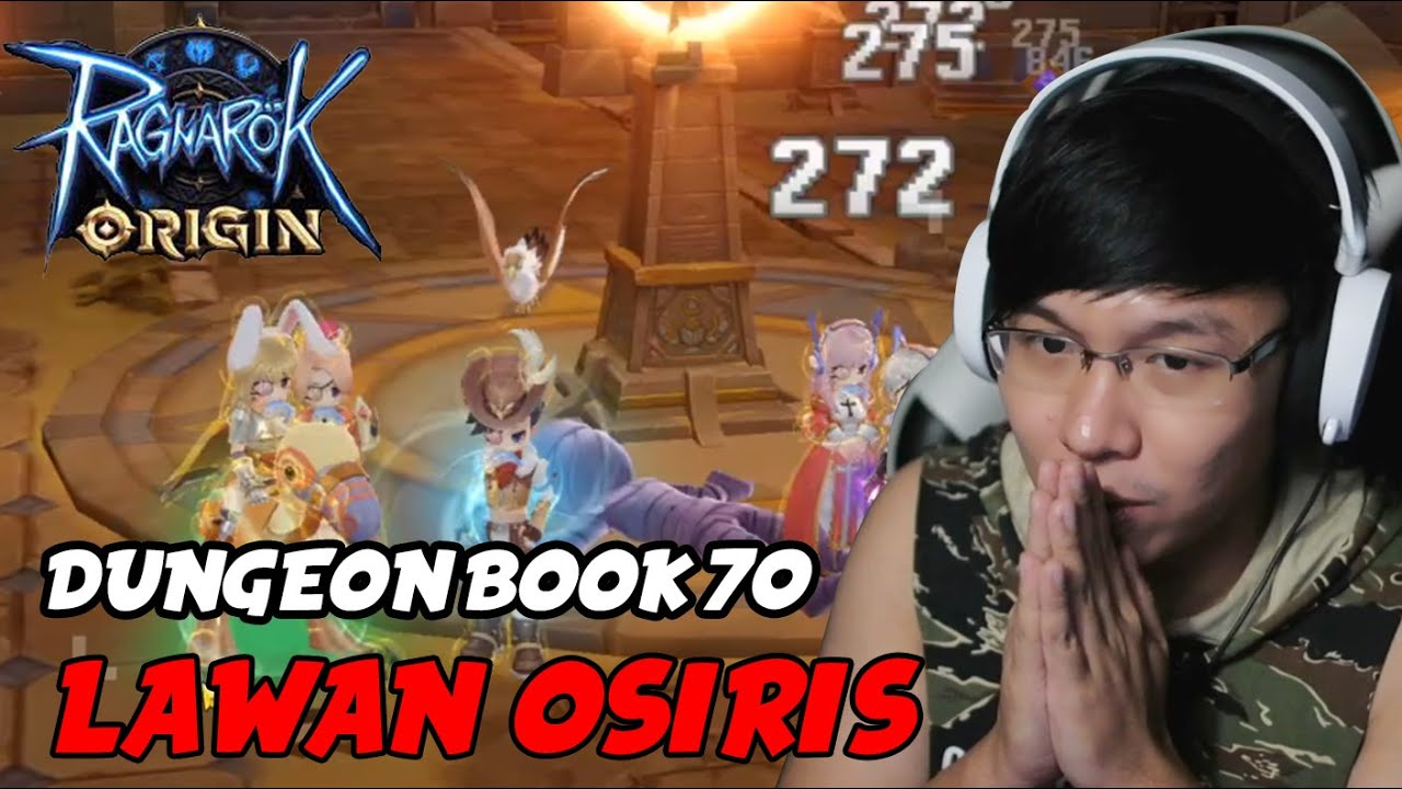 LAWAN OSIRIS DUNGEON BOOK 70 ! RAGNAROK ORIGIN
