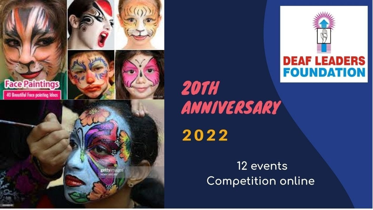 DLF 20 event  1  Face paint competition