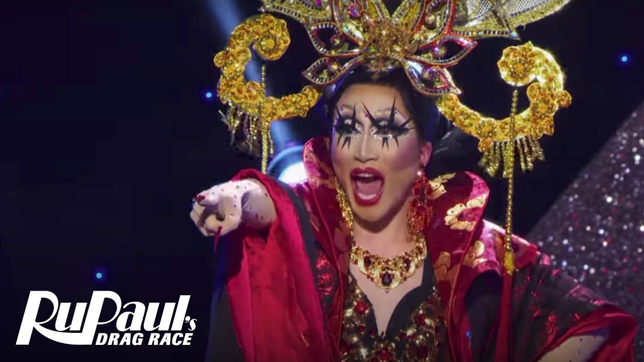 Download Lip Sync Eleganza Extravaganza Performance w/ S1 & S10 Queens 💃| RuPaul's Drag Race Season 10