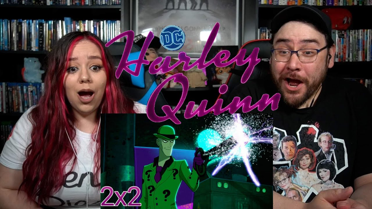 Harley Quinn 2x2 RIDDLE U - Reaction / Review